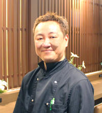 レストラン縁 店長 林 剛司氏