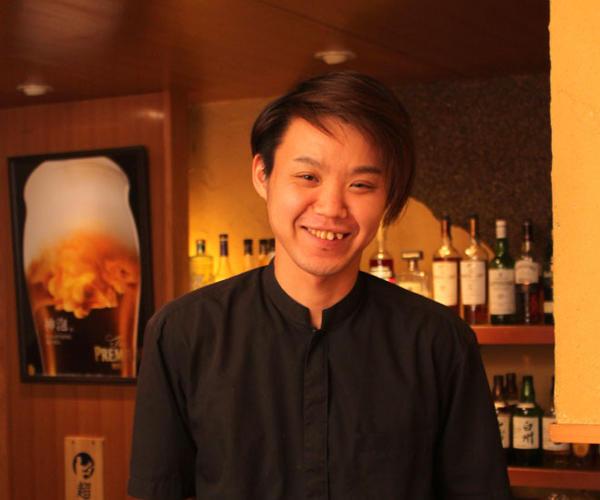 隠れ家つづみ 店長 松本 明博さん(35才)