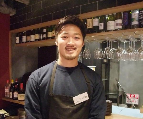 GYUTAN BISTRO JYO-ZETSU 料理長 川島 好平さん(30才)