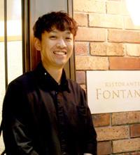 Ristorante FONTANA(リストランテ フォンタナ) 料理長 小川 祐樹氏