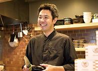 魚・炭・酒 おはし二日町 煮干そば 肉おでん 片平小十郎 店主 菅野 大輔さん