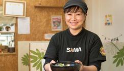 Curry&Cafe SAMA 仙台大学病院前  副店長 安田 倫子さん