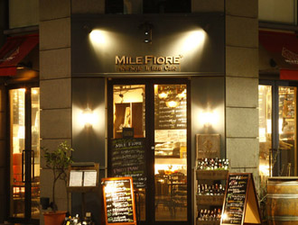 New Style Italian Cafe「BAR MILE FIORE」(バール ミッレ・フィオーレ)