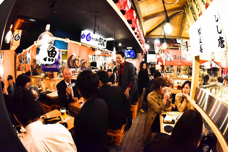 鮮魚酒場 鮨〇(新橋ガード下横丁) 求人情報