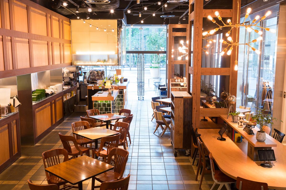 MarunouchiCafe×WIRED CAFE