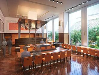 庭のホテル 東京/「グリル&バー流(りゅう)」