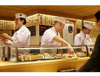 本格江戸前寿司 魚がし日本一 東急港北店