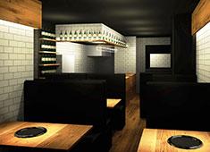 FIVE A LLC(ファイブ エー 合同会社) 求人 ▲新店は、NYテイストを取り入れた洋風のデザインでカジュアルな内装となります。