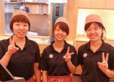 板前回転寿司たいせい/株式会社 台星商事 求人 女性の寿司職人も活躍できる環境をご用意しています!