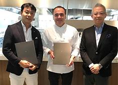 株式会社ワンダーテーブル 求人 新店舗 Jean-Georges Tokyoの契約風系です。
