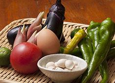 炭焼き よし鳥 ▲旬の食材を使用した一品料理。和食など調理経験を存分に発揮してください!