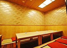 寿司幸 座敷の部屋も完備! 様々なニーズに対応しています。