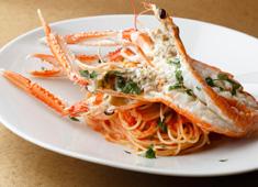 株式会社Gコンセプト(KAZAN/Shrimp Garden) 海老料理のほか、魚介料理や肉料理など系列店のノウハウを活かしてメニューも提供しています。