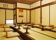 招福楼 東京店 落ち着いた雰囲気の和室【十方の間】。和室のみならず、洋室や2人用の個室など、様々なシーンを演出します。