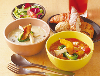 「EAT MORE GREENS」「eat more SOUP&BREAD」/株式会社ビッグイーツ 求人