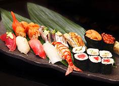 岩佐寿し 上質な素材と確かな技術で、正統派江戸前寿司を提供!