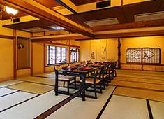 浅草 茶寮 一松 大部屋~個室まで各種揃えてお客様をお迎えしています。