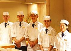 「若槻」「KARUME」 求人 鮨業界には珍しい女性鮨職人も活躍しています!