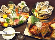 海蔵 「豪快」という言葉が、まさにピッタリの料理の数々!!