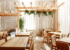 株式会社サザビーリーグ/RH cafe 「Ron Herman」にしか作れない開放的でリラックスできる空間。