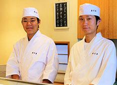 寿司幸 経験者の方は実力次第で即カウンタ―に立つことも可能!
