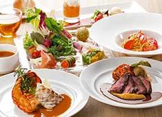 株式会社モスダイニング(株式会社 モスフードサービス100%出資) 求人 こだわった厳選野菜を使用した料理の数々。