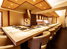 日本料理 銀座 一(にのまえ) 他 求人 オープンキッチンでの調理を希望する方も歓迎です。