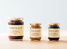 TORAYA CAFE/株式会社 虎玄(虎屋グループ) 求人 店舗だけでなく、オンラインショップ等でも販売を行う、看板商品『あんペースト』。