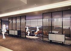 センコークリエイティブマネジメント株式会社 東京イーストサイド「ホテル 櫂会」 求人 日本料理「あけくれ」は日本家屋の離れを想わせるプライベートな空間。四季折々の食材を吟味した懐石料理を提供
