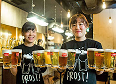 SCHMATZ(シュマッツ)/カイザーキッチン株式会社 求人 種類豊富なビールと料理!一緒にドイツ文化と共に料理・ビールのおいしさを広めていきましょう。