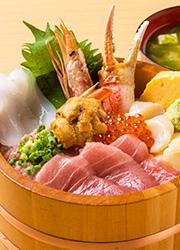 株式会社 Mevius Food Navigation/「魚がし料理 粋のや」「築地 海鮮丼 大江戸」 求人