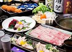 「一砂 立川」「鈴の音 三鷹」「Soba&Co. 神谷町店」 求人 ▲市場直送の魚介を使用した海鮮料理や、あぐー豚のしゃぶしゃぶを提供する「鈴の音 三鷹」