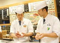 「寿司 魚がし日本一 」「和食 青ゆず寅」/株式会社にっぱん 求人 魚がし日本一は学べる・稼げる・握り専門店。寿司職人経験者も立ち食い寿司を学べる寿司アカデミーは高田馬場にあります。
