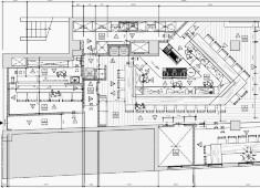 恵比寿 創和堂、渋谷 酒井商会/【株式会社酒井商会】※新店開業準備室 求人 【新店舗の平面図】カウンターの中にアイランドキッチン。料理人が活躍するお店です。独立したバーカウンターもあります。
