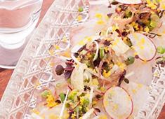 株式会社 太(た) 求人 ▲旬の食材をふんだんに使用した料理は5000円のコース1本!21:00以降はアラカルトにも対応しています。