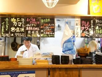 小さな魚河岸 野口鮮魚店、ほか/築地 大宮商店 ※新店開業準備チーム 求人 「飲食の経験はアルバイトだけ…」そんな方も歓迎しています。どこでも通用する鮮魚の技術が身につきます。