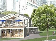 和食と立ち喰い寿司 NATURA 求人 2023年春に開業予定の「スーパーマーケット」完成予想図。壮大なプロジェクトが進んでいます。