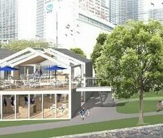 「NATURA」/株式会社 NATURA 求人 2023年春に開業予定の「スーパーマーケット」完成予想図。壮大なプロジェクトが進んでいます。
