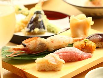 ワイン・寿司・天ぷら 魚が肴(サカナガサカナ) 仙台PARCO2店