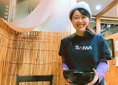Curry&Cafe SAMA仙台 大学病院前 ホールとキッチンどちらも行っていただきます☆