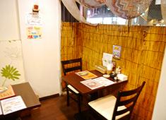 Curry&Cafe SAMA仙台 大学病院前 求人 アジアンテイストな店内でゆったり過ごせます◎
