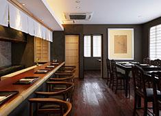 際コーポレーション 株式会社 落ち着いた空間で地元の食材を使ったお料理を楽しんでいただきます。